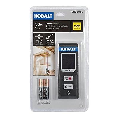 Kobalt 50-foot Indoor Laser Measure 0805836 KB50FT from Kobalt