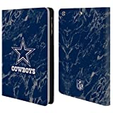 Official NFL Coloured Marble 2018/19 Dallas Cowboys Logo Leather Book Wallet Case Cover for iPad Mini 1 / Mini 2 / Mini 3