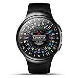 LEMFO Android 5.1OS 3G Smart Watch Phone Wifi BT GPS Pedometer Heart Rate Smartwatch for Android 5.0 & iPhone IOS 8.0