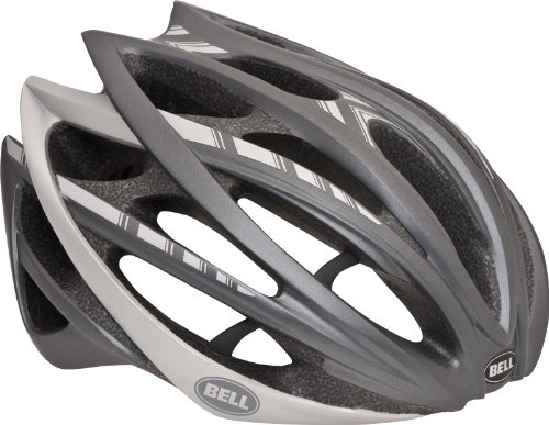 Bell Gage Titanium Stripes Bike Helmet (Matte Gray, Large) Review