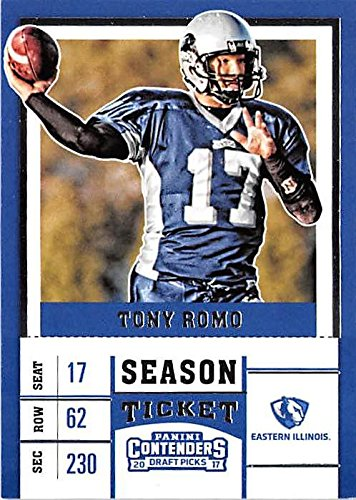 Tony Romo Football Card Eastern Illinois Panthers Ncaa College