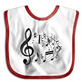 stand mixer skins - Active Music Bibs Baby Bibs Soft Baby Skin-friendly Towel Red