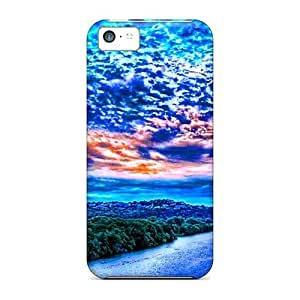 MMZ DIY PHONE CASEIphone High Quality Tpu Case/ Amazing Clouds Above The River UAyzKfN2329OJLPg Case Cover For iphone 4/4s