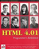 HTML 4.01 Programmer's Reference