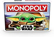 Monopoly: Star Wars The Child Edition Board Game for Families and Kids Ages 8 and Up, Featuring The Child, Who