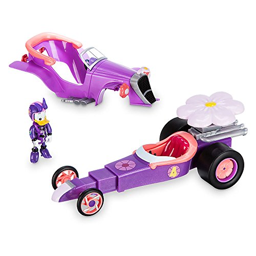 Disney Daisy Duck Transforming Pullback Racer - Mickey and the Roadster Racers (Daisy Toy)