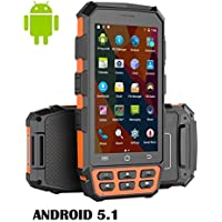 PAC-5000 4G Rugged Android 5.1 PDA Handheld Computer - With 2d Barcode Scanner