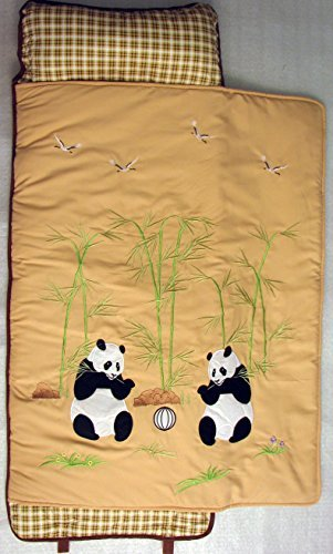 - SoHo Nap Mat , Giant Panda (All Hand Embroidery)