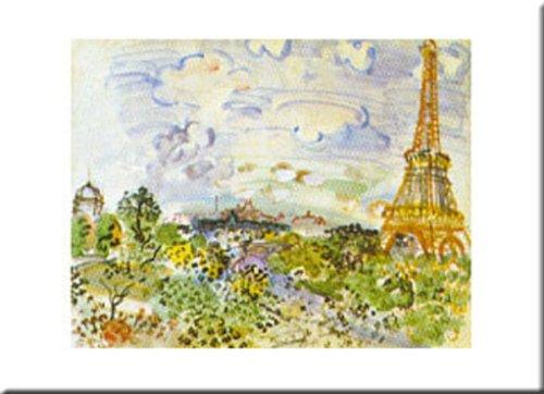 la-tour-eiffel-by-raoul-dufy-16-x-20-art-print-poster
