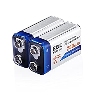 EBL 4c 4d batteries with charger