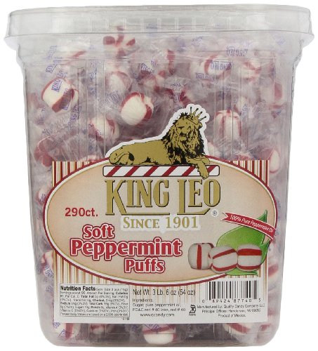 King Leo Peppermint Puffs - King Leo Soft Peppermint, 54 Ounce