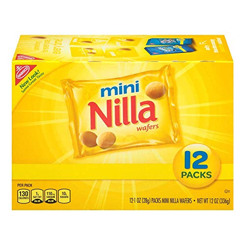 Nilla Wafers Cookies Count Individual