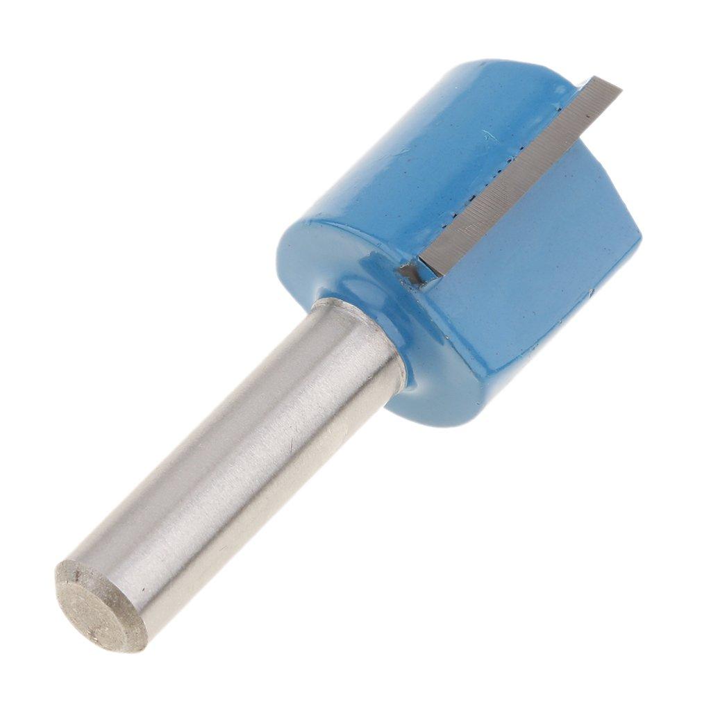 B Blesiya 3 Pcs Carbure 8mm Queue Flush Mod/èle Trim Routeur Fraise 12-20mm
