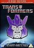 Transformers Season 3 & 4 - Re-Release [DVD] [1984] [Reino Unido]