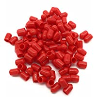 ST Dust Caps for Fiber Optic Devices, Cables and End faces - 100-pack - Protect your Fiber from debris and contaminants