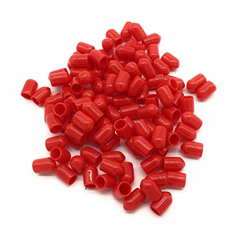 FiberShack - ST Dust Caps for Fiber Optic Devices, Cables and End Faces - 100 Pack