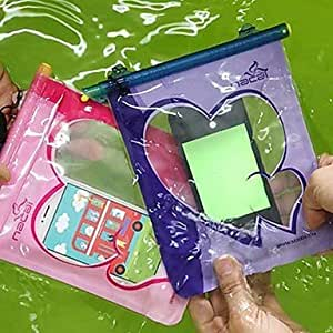 YXF Universal Waterproof Underwater Pouch for iPhone(Assorted Color) , Pink