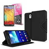 Black Samsung Galaxy Note 3 Wallet Case; Best