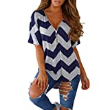 Spbamboo Women Zipper Short Sleeve Casual Vest Top Blouse Ladies Loose T Shirts