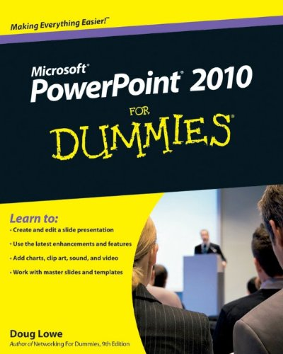 [PDF] PowerPoint 2010 For Dummies Free Download | Publisher : For Dummies | Category : Computers & Internet | ISBN 10 : 0470487658 | ISBN 13 : 9780470487655