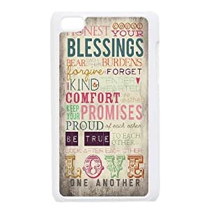 iPod Touch 4 Case White Love One Another BNY_6922220