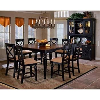 Wonderful Hillsdale Northern Heights 9 Piece Counter Height Dining Set