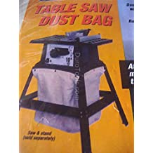 Saws & Blades Table Saw Dust Collector / Collection Bag for Stands, Skil, Craftsman, Makita