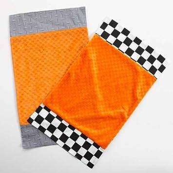 One Grace Place Teyo 's Reifen Spucktuch - schwarz - weiß - grau - orange