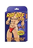 Male Power by Magic Silk Rip Off Bikini Red Mens Novelty Shorts
