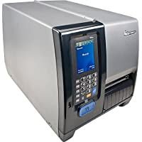 Intermec PM43A11000050201 Series PM43 TT Desktop Printer, 203 DPI, Touch Interface, Serial, USB, Ethernet, Full Rewinder, Fixed Hanger, US Power Cord