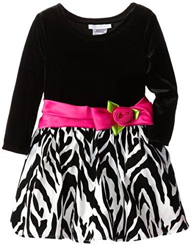 Zebra Print Party Dress - 3