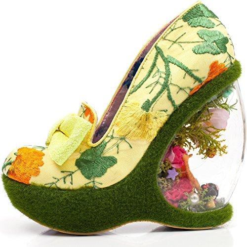 Garden Shoes Textile Paradise Court Women's Irregular Choice EY0qw1xS