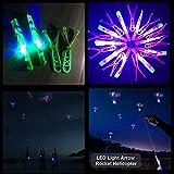 Rocket Slingshot Flying Copters with LED Lights for