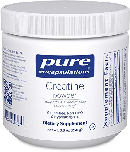 Pure Encapsulations - Creatine Powder - Hypoallergenic Strength and Conditioning Support Formula for Athletes* - 250 Grams