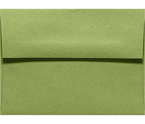 A1 Invitation Envelopes (3 5/8 x 5 1/8) - Avocado Green (50 Qty.)