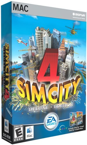 Sim City 4 Deluxe  - Mac by Aspyr