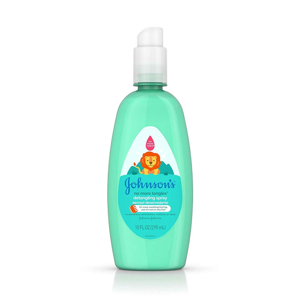 Johnson & Johnson Buddies No More Tangles Hair Detangler For Kids, 10 fl. oz.