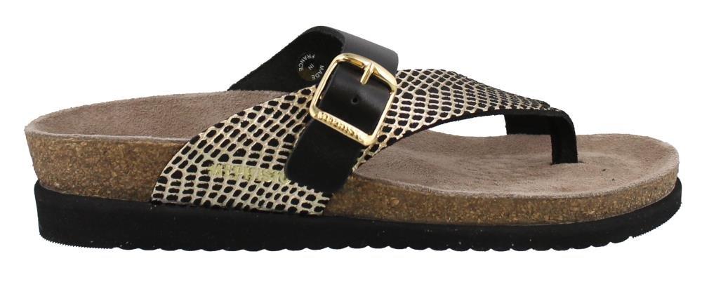 Mephisto Women's Helen MIX Slide Sandal, Black, 6 M US