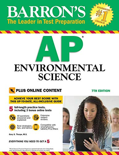 Pdf Teen Barron's AP Environmental Science with Online Tests