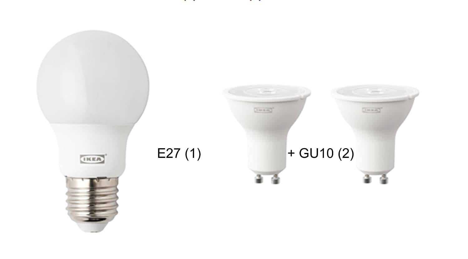 Kit de bombillas LED para IKEA-Lámpara de pie con luz de lectura NOT ...