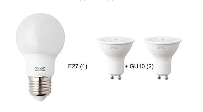 Kit de bombillas LED para IKEA-Lámpara de pie con luz de lectura NOT-