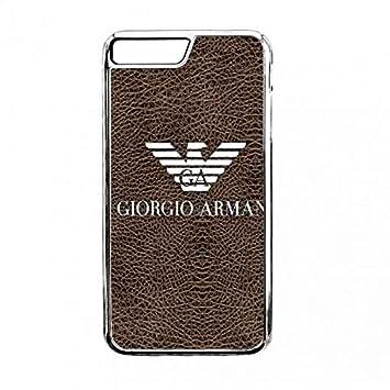 quality design 0661c 9bd17 iPhone 7 Plus Armani Logo Mobile phone case,Armani Logo: Amazon.co ...