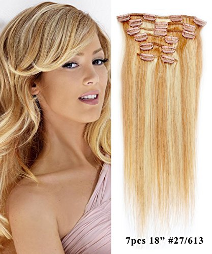Mike & Mary Clip in Hair Extensions 18