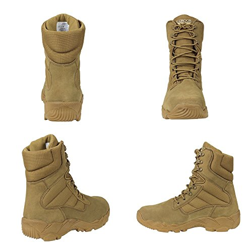 latest collections Condor Gordon Combat Boot - Coyote Brown Coyote Brown cheap sale purchase cheap wholesale price 64EVyW