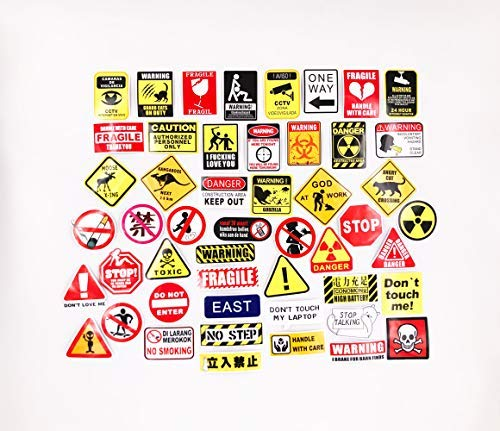 Funny Sign Stickers Decal for Laptop Luggage Water Bottle Skateboard Decoration Phone Bicycle Guitar Bike Motorcycle 50 pcs Pack - Artsybb]()