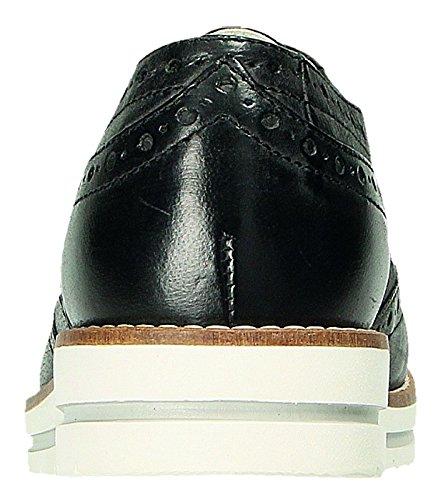 Negro Negro de Klondike para Cordones Mujer Zapatos Negro Y7avxp