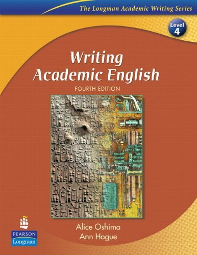 Writing Academic English and Eye on Editing 2: Value Pack (4th Edition) (The Longman Academic Writing, Level 4) by Alice Oshima (2009-05-17)