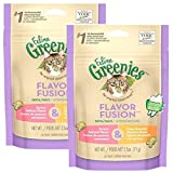 Cheap FELINE GREENIES Dental Cat Treats, Chicken & Salmon, 5 oz.