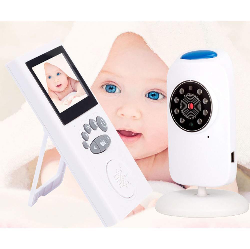 【2018年製 新品】 ベビーモニター赤外線ナイトビジョン双方向の声温度検知幼児の安全を監視するのに適しています B07MZ43Z27 B07MZ43Z27, マペット:e8702a19 --- a0267596.xsph.ru