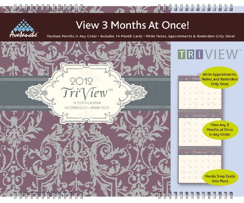 View 2012 Wall Calendar - 2012 Mom's Home Tri-View calendar